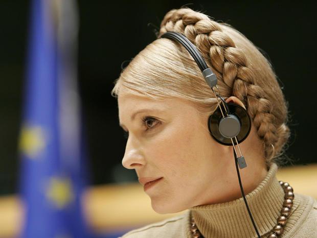 Ukrainian Prime Minister Yulia Tymoschen