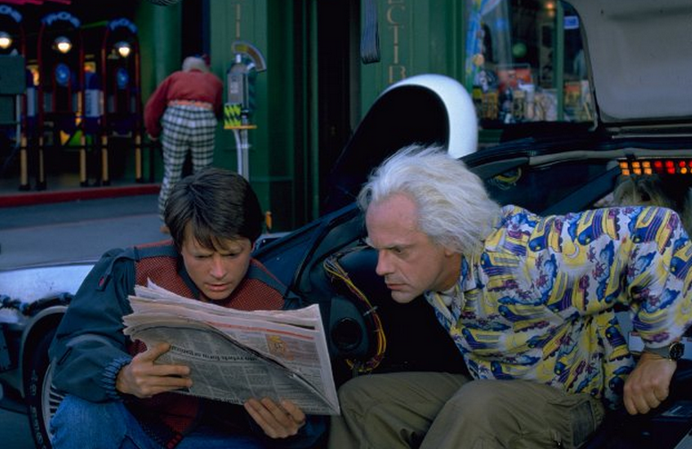 Back To The Future Part Iii Potty Break Kid
