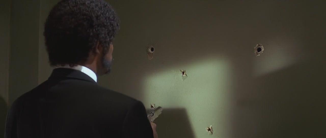 Pulp Fiction Bullet Holes
