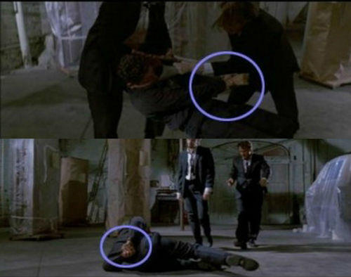 Reservoir Dogs Changing Handcuffs