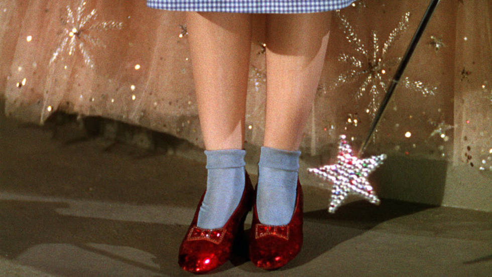 Wizard Of Oz Changing Shoes