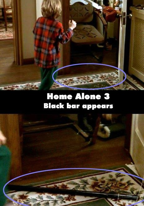 Home Alone 3 Black Bar