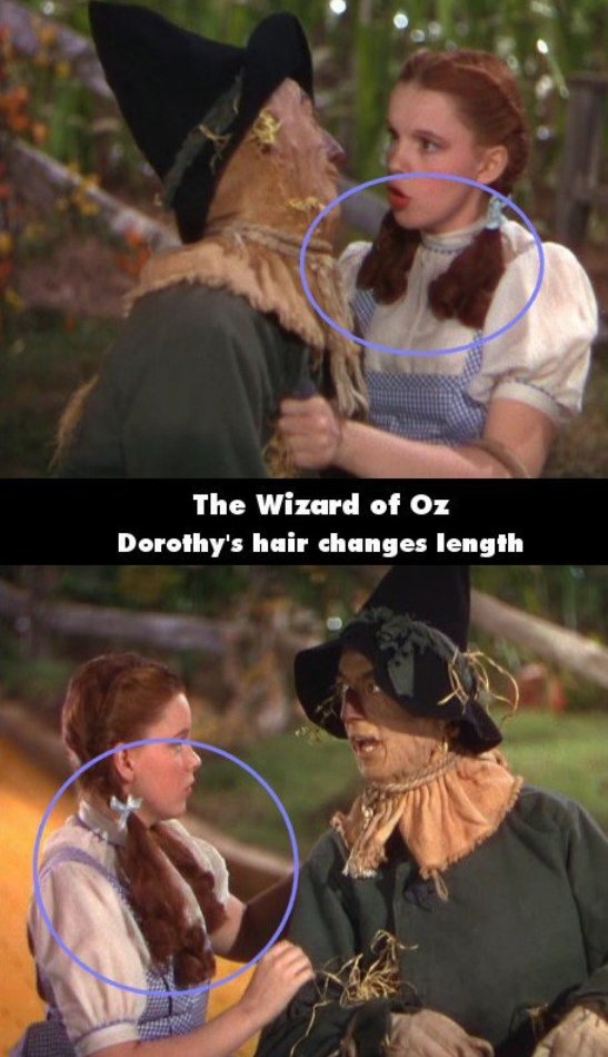 The Wizard Of Oz Hair Mystery