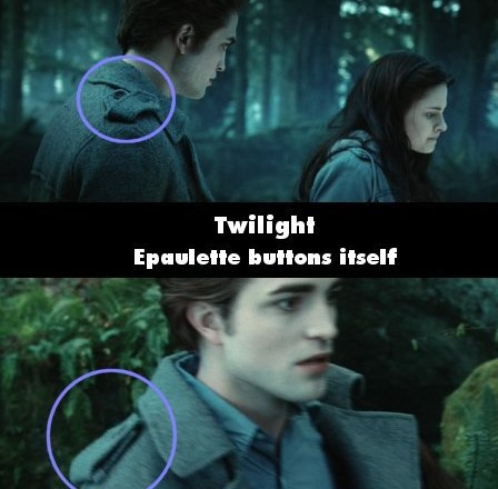 Twilight Buttons