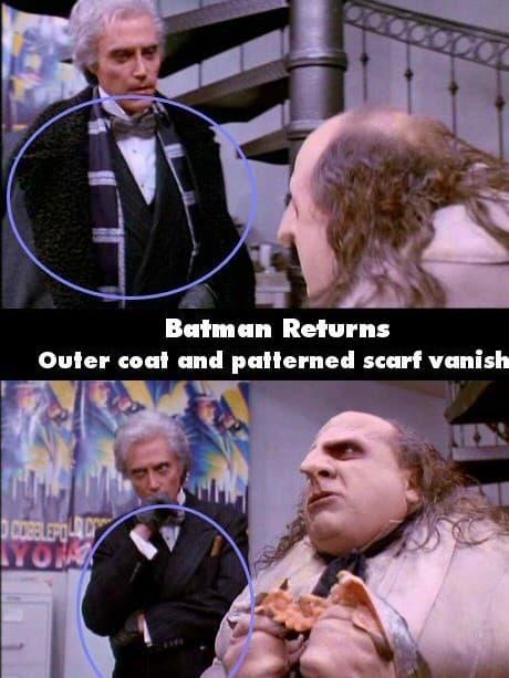Batman Returns Warm Enough