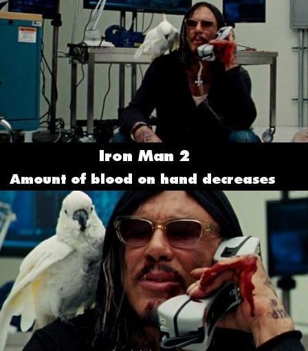 Iron Man 2 Bloody