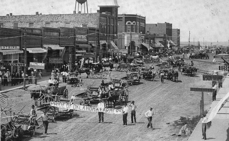 Oklahoma Farmers 1905