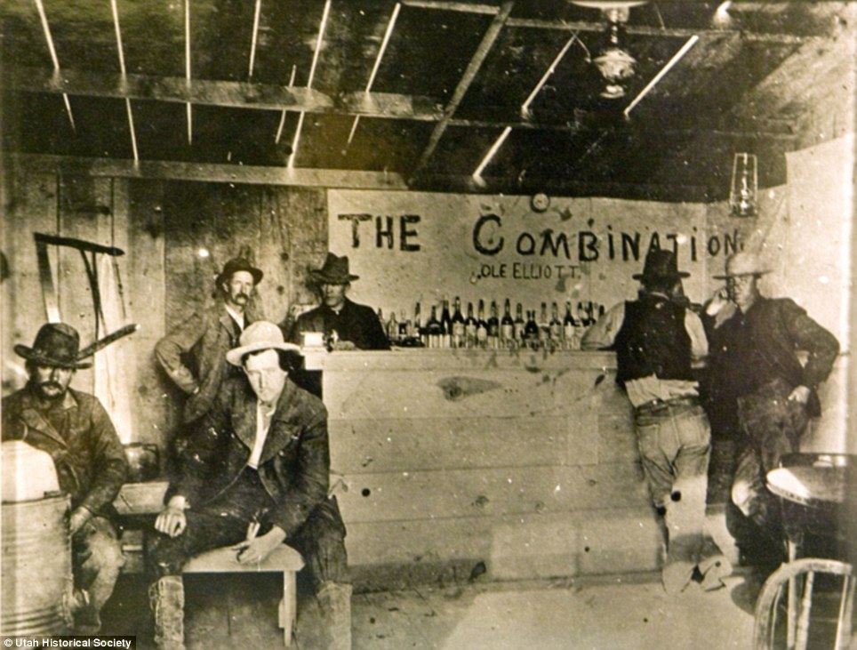 The Combination Saloon, Utah