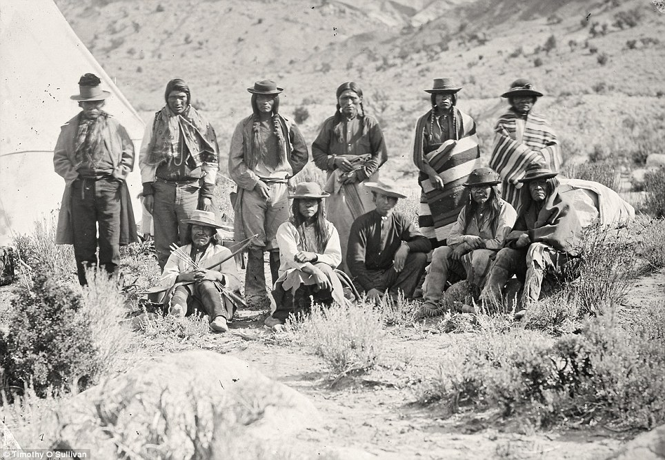 The Pah Ute (Paiute) Indian Group