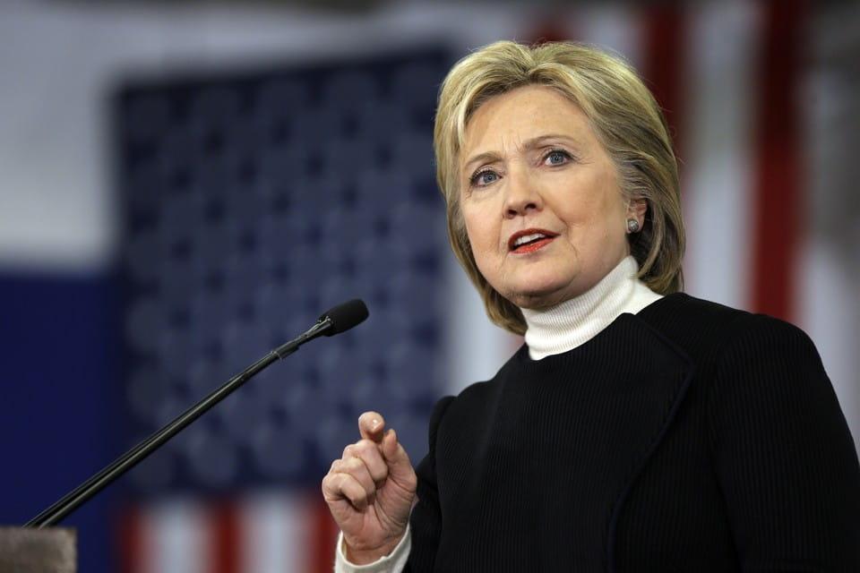 Hillary Clinton – Estimated Net Worth $31.3m