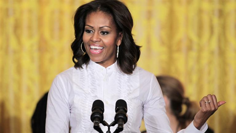 Michelle Obama – Estimated Net Worth $11.8m