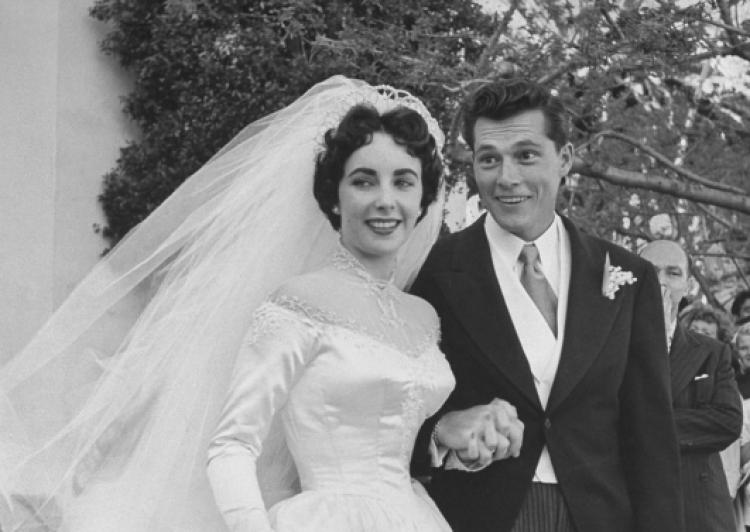 Elizabeth Taylor And Conrad Hilton