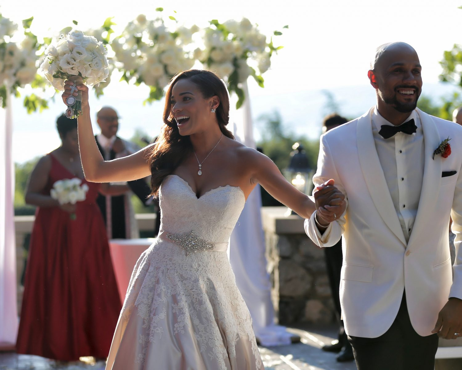 Rochelle Aytes And C.J. Lindsey