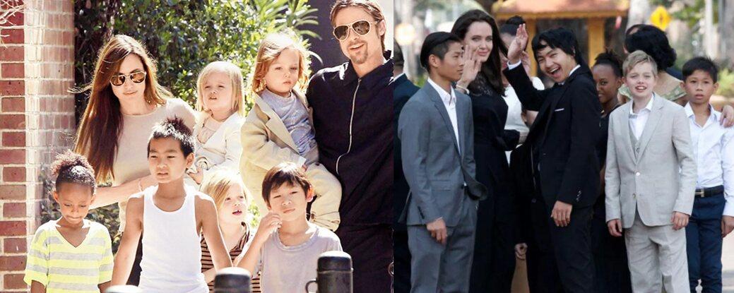 Jolie Pitt Children