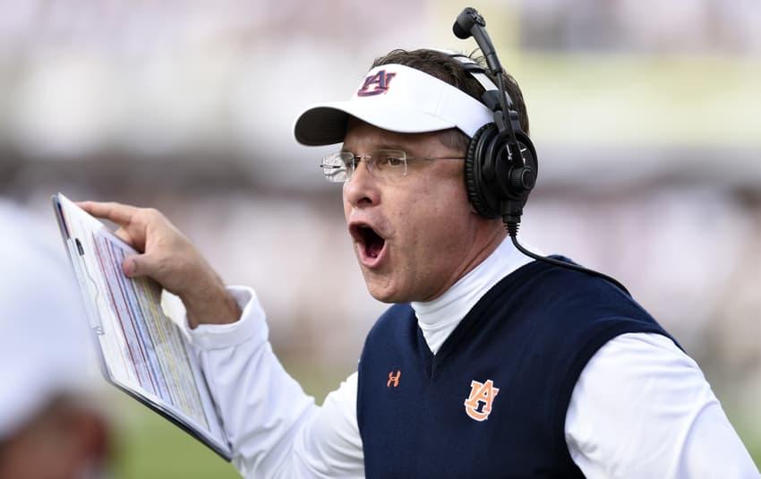 NCAA Football: Auburn At Mississippi State