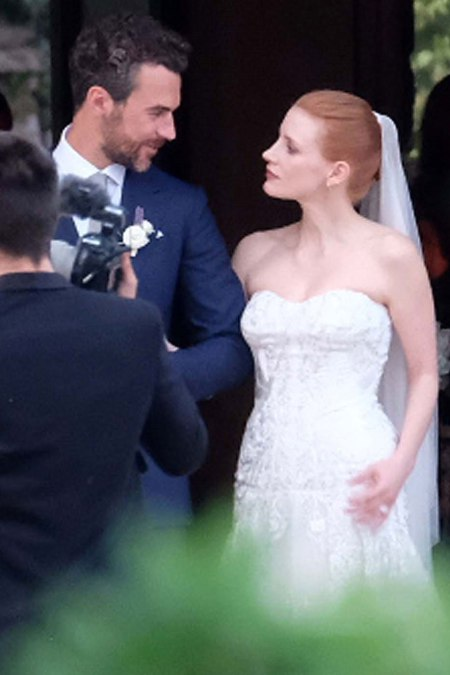 Jessica Chastain And Gian Luca