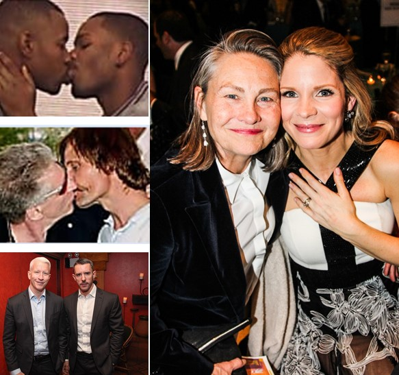 More LGBT Celebrity Couples
