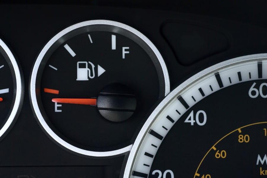Arrow On Gas Gauge