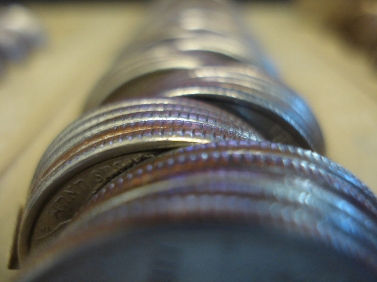 Ridges On Coins