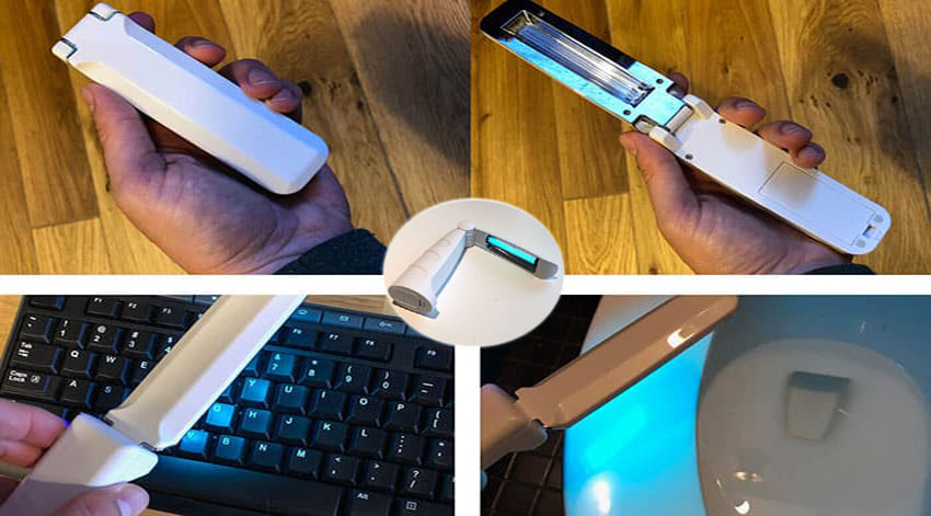 Portable UV C Light Sanitizers