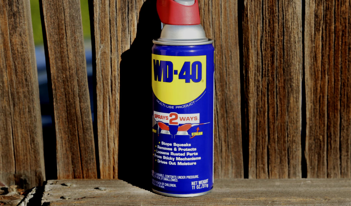 Use WD40 In Your Bathroom Faucets