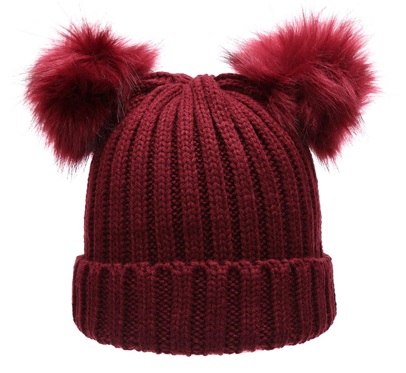 Pom Poms On Winter Hats