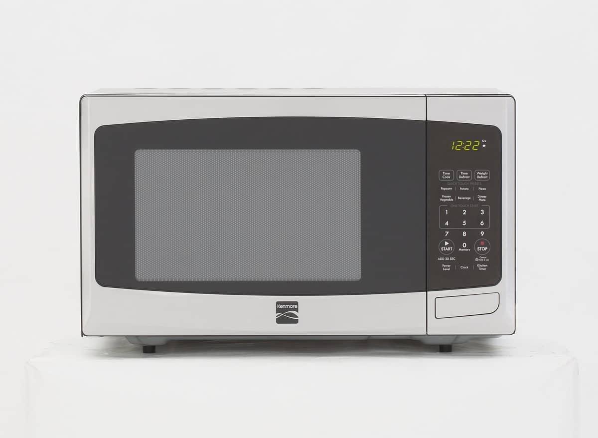 Black Grating In Microwave