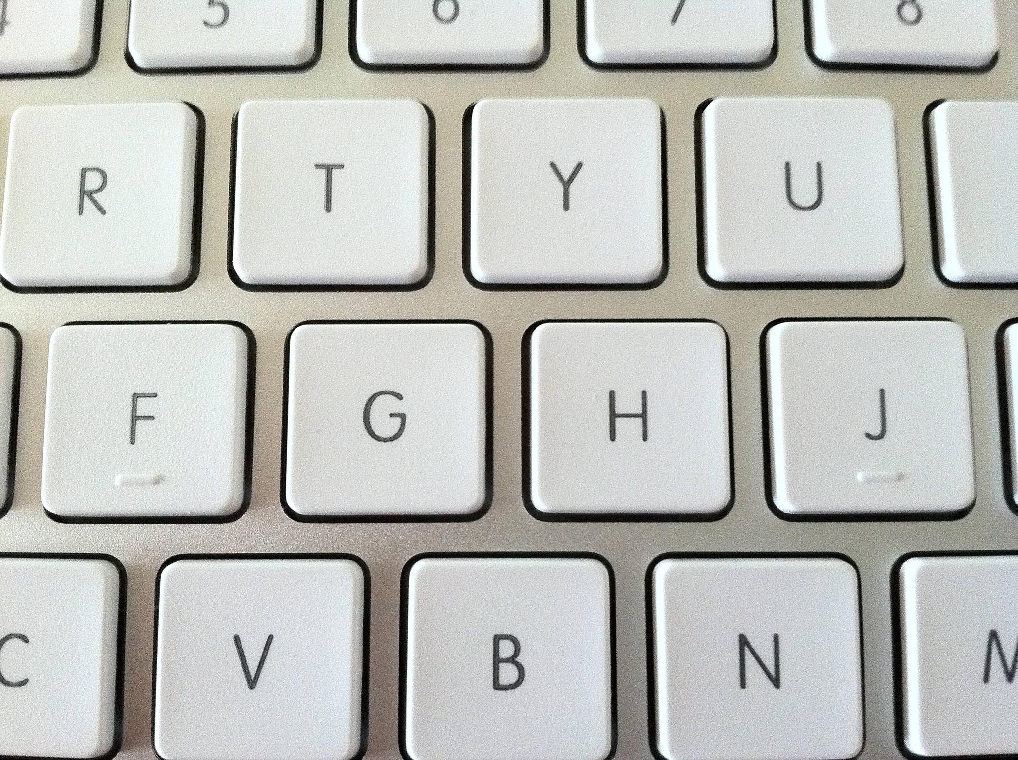 Keyboard Bumps