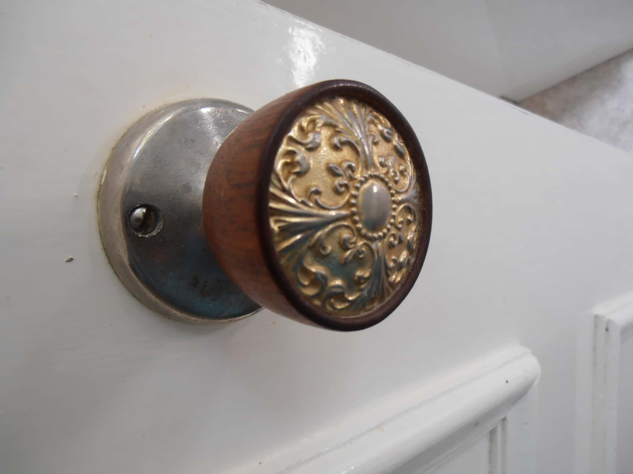 Brass Doorknobs